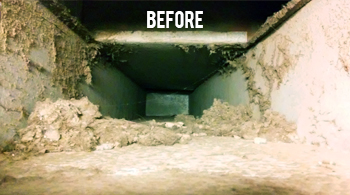 difference - duct cleaning