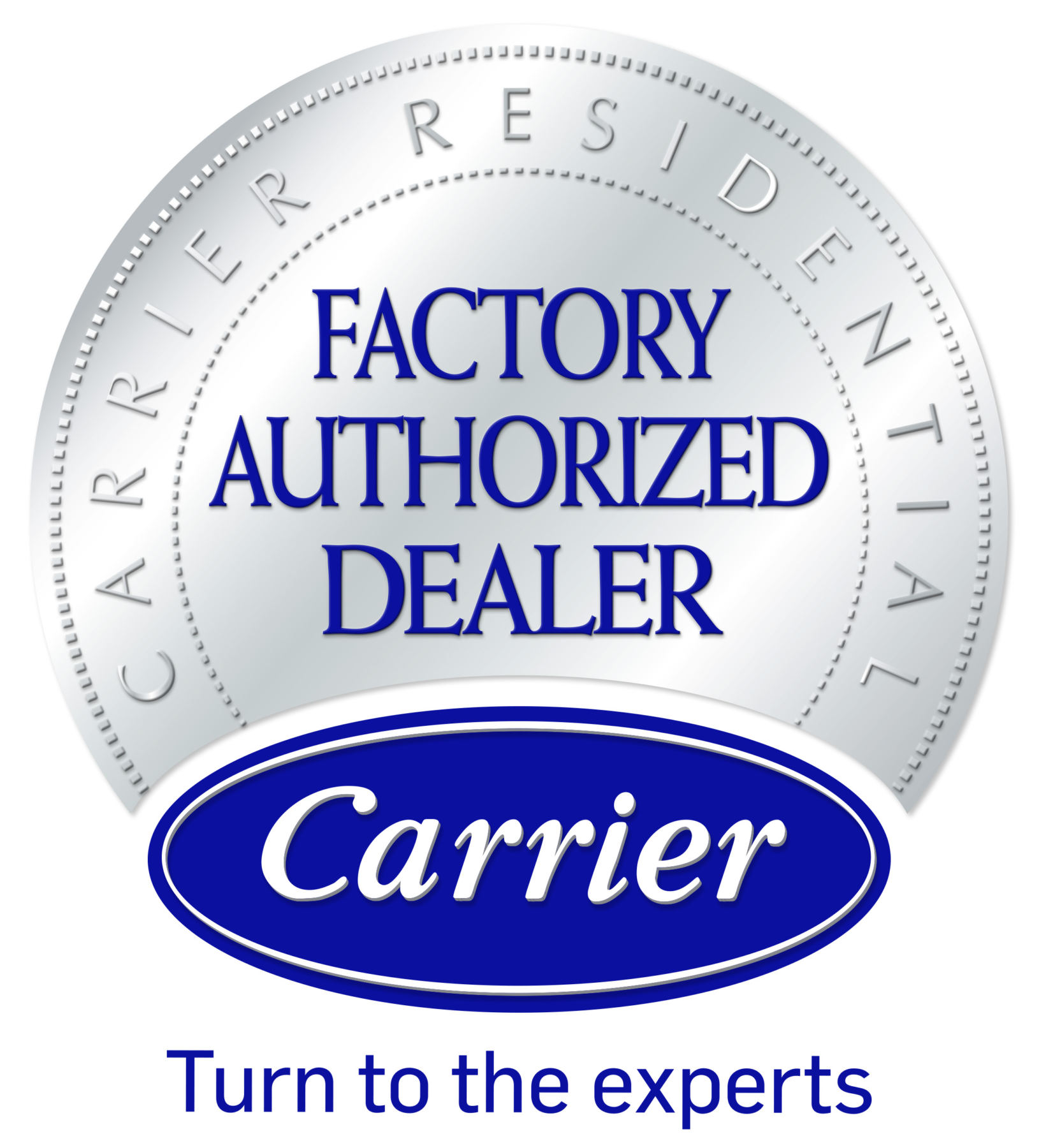 carrier logo - mchenry heating