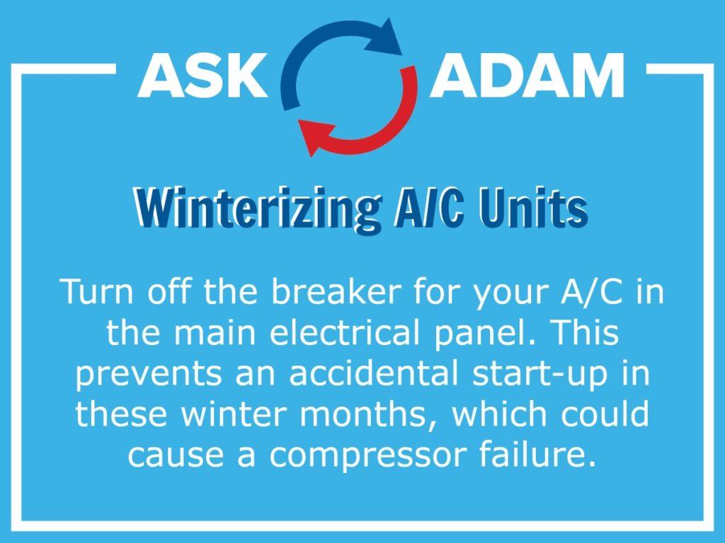 winterizing ac units - furnace sales crystal lake il