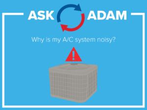 a/c system - noisy