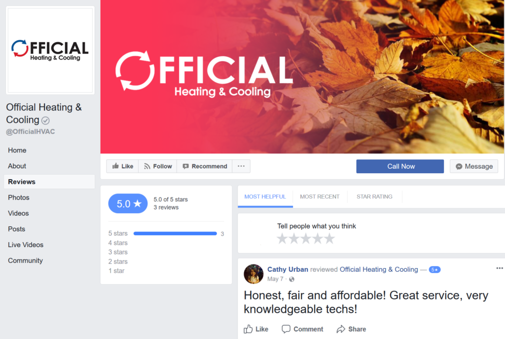 official hvac facebook - mchenry heating - furnace crystal lake il