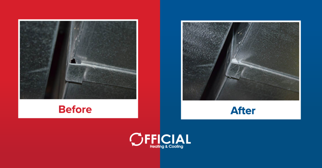aeroseal duct sealing - duct cleaning mchenry il