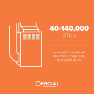 btus - furnace repair
