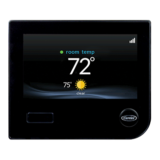 carrier thermostat - cooling products