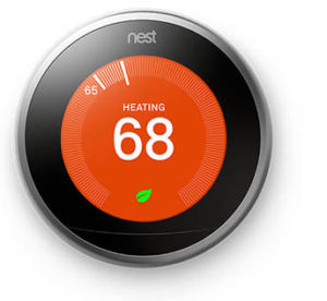 smart home nest thermostat