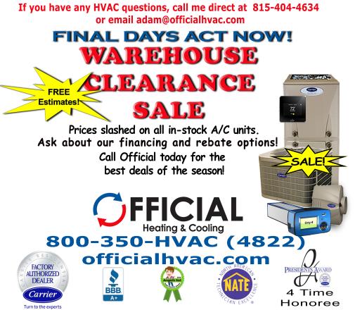 furnace inspection - hvac warehouse clearance sale