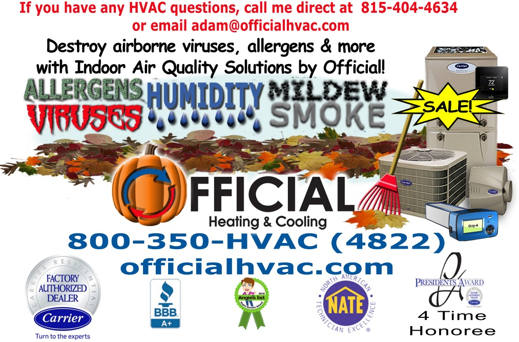 furnace inspection - indoor air quality