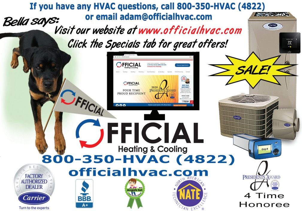 Does your A/C have ice or frost buildup - hvac specials